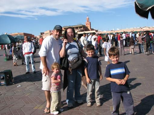 Barbuscas in Marrakech